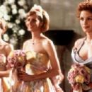 Julia Roberts, Rachel Griffiths and Carrie Preston in My Best Friend's Wedding (1997)