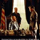Following the Japanese attack on Pearl Harbor, President Franklin D. Roosevelt (Jon Voight) meets with General Marshall (Scott Wilson) and pilot Rafe McCawley (Ben Affleck) in Touchstone Pictures' Pearl Harbor - 2001