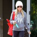 Ashley Tisdale: Leaving her dentist appointment in Los Angeles