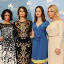 "Selena Gomez attended ""Springbreakers"" film's Venice Film Festival photocall (September 5)"