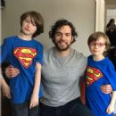 Henry Cavill- March 18, 2017- Meeting Fans on Set of Nomis