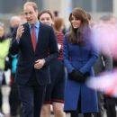 Catherine, Duchess of Cambridge, Prince William Windsor visit Dundee on October 23, 2015 - 421 x 600