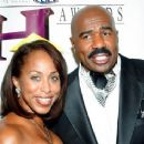 Marjorie Harvey and Steve Harvey