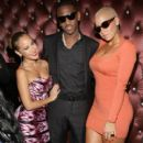 Amber Rose at Fabolous' Birthday Party at the Gansevoort Park Avenue in New York City - November 19, 2010