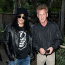 "Slash poses at the ""Meet Me In Australia"" event benefiting Australia Wildlife Relief Efforts at Los Angeles Zoo on March 08, 2020 in Los Angeles, California"