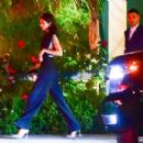 Kendall Jenner and Fai Khadra at the Bungalow in Santa Monica - 454 x 303