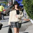 Kelly Brook Street Style Out In Los Angeles