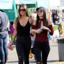 Victoria Justice and Madison Reed at the Farmers Market in LA, 11/06/ 2016