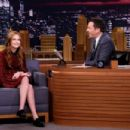 Zoey Deutch – 'The Tonight Show Starring Jimmy Fallon' in NYC - 454 x 303