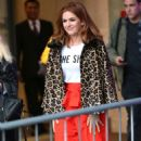 Isla Fisher at BBC Broadcasting House in London - 454 x 724