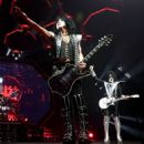 Paul Stanley of KISS performs during their End Of The Road World Tour at The Forum on February 16, 2019 in Inglewood, California
