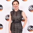Actress Hayley Atwell attends the Disney ABC Television Group TCA Summer Press Tour on August 4, 2016 in Beverly Hills, California - 399 x 600