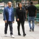 Mariska Hargitay – On The Set of 'Law and Order: Special Victims Unit' in New York - 454 x 303