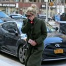 Ashley Benson -Seen at her apartment in New York City