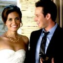 Torrey DeVitto and Ryan Merriman