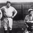 Jackie Mitchell, Lou Gehrig and Babe Ruth - 454 x 216
