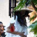 Jenna Dewan at a backyard pool party - May 29, 2010