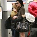 Demi Lovato - At The Burbank Airport, 2009-10-27