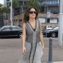 Salma Hayek Out In Sydney