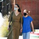 Angelina Jolie – Shopping candids with her daughter Vivienne in Los Angeles