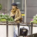 Nikki Reed and Ian Somerhalder – Arriving in Toronto - 454 x 481