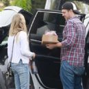 Amanda Seyfried in Jeans – Arriving at an easter party in Los Angeles