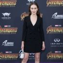 Alycia Debnam Carey – 'Avengers: Infinity War' Premiere in Los Angeles