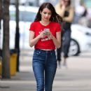 Emma Roberts out in Toronto