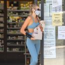 Kaia Gerber – Grabs a juice after a work out at the dog pound gym in West Hollywood