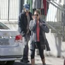 Nikki Reed and Ian Somerhalder Out In Atlanta