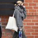 Emma Roberts makes a trip to a Medical Center