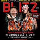 Angus Young - BLITZ Magazine Cover [Portugal] (May 2016)