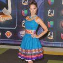 Carolina Tejera- Univision's Premios Juventud 2015- Red Carpet - 400 x 600