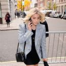 Mollie King – Arriving at BBC Broadcasting House in London - 454 x 800