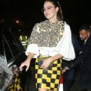 Shailene Woodley – Leaving Louis Vuitton New Bond Street Maison Reopening after party in London
