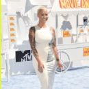 Amber Rose attends The 2015 MTV Movie Awards at Nokia Theatre L.A. Live in Los Angeles, California - April 12, 2015