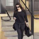Kim Kardashian: headed into a Los Angeles gym