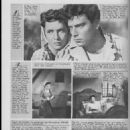 Raf Vallone - Les films pour vous Magazine Pictorial [France] (11 September 1961)