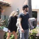 Charlotte McKinney leaves OLO Restaurant in Malibu, CA March 26th,2017 - 454 x 681