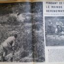 Ernest Hemingway - Paris Match Magazine Pictorial [France] (30 January 1954) - 454 x 296