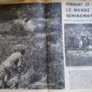 Ernest Hemingway - Paris Match Magazine Pictorial [France] (30 January 1954)