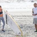 Dwayne Johnson- March 28, 2016-The Set of Baywatch - 454 x 321