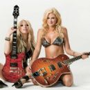Megan Hauserman, Daisy De La Hoya - Guitar Buyer´s Magazine Pictorial [United States] (November 2010) - 454 x 323