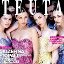 Xhesika Berberi, Diana Avdiu, Zana Krasniqi - TEUTA Magazine Cover [Albania] (January 2012)