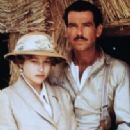 Pierce Brosnan and Beatie Edney