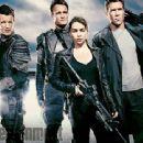 Matt Smith, Jason Clarke, Emilia Clarke, Jai Courtney - Terminator Genesys - Entertainment Weekly Magazine Pictorial [United States] (8 November 2014)