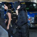 Katy Perry At Lax Airport In La