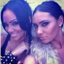 Shaniece Hairston and Evelyn Lozada