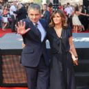 Rowan Atkinson and Sunetra Sastry - 398 x 621