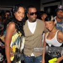 Puff Daddy and Kim Porter - 454 x 544